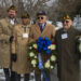 Soldiers at the Battle of the Bulge Memorial Ceremony