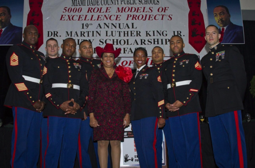 Rep. Wilson with Marine Corps