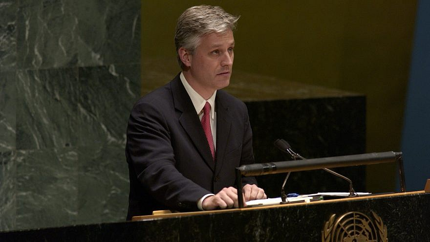 Robert O'Brien addresses the UN General Assembly